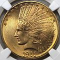 1911 Indian Head eagle obverse.jpg