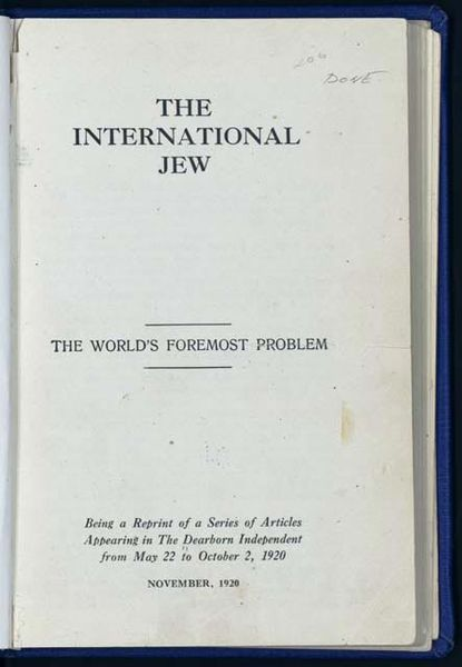 Archivo:1920 International Jew reprint from Dearborn Independent.jpg