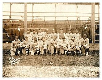 Hilldale Club - The Hilldale Club in 1921
