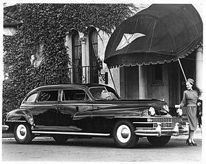 Chrysler Imperial - 1948 Chrysler Imperial Crown Limousine
