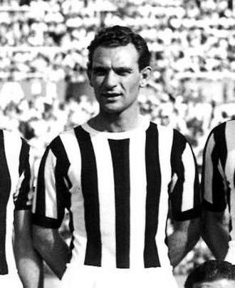 Giacomo Mari - Mari with Juventus in 1951