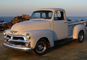 Chevrolet Advance Design - Image: 1954 Chevrolet 3100