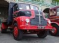 1954 Leyland Comet 90 flatbed lorry (ENH 210), 2009 HCVS London to Brighton run.jpg