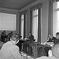 1958 visite d'une délégation INRA au Haras du Pin Cliché Jean Joseph Weber-16-1.jpg