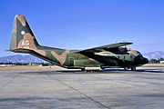 195th Tactical Airlift Squadron - Lockheed C-130A-7-LM Hercules 56-498