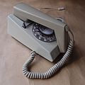 1971 GPO 1722F Two Tone Ivory Rotary Dial Trimphone Telephone.JPG