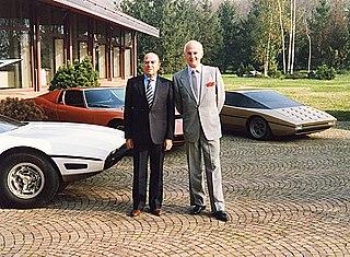 Chuck Jordan (automobile designer) American automobile designer