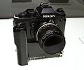 1981 Nikon F3 Small Camera NASA Modified 2012 CP+.jpg