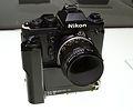 1981 Nikon F3 Small Camera NASA Modified 2012 CP+.jpg