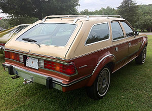 AMC Eagle - AMC Eagle Wagon in two-tone finish