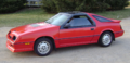 1986 Daytona Turbo Z CS (Carroll Shelby) with T roof.png