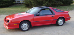 Dodge Daytona (1984–1987)