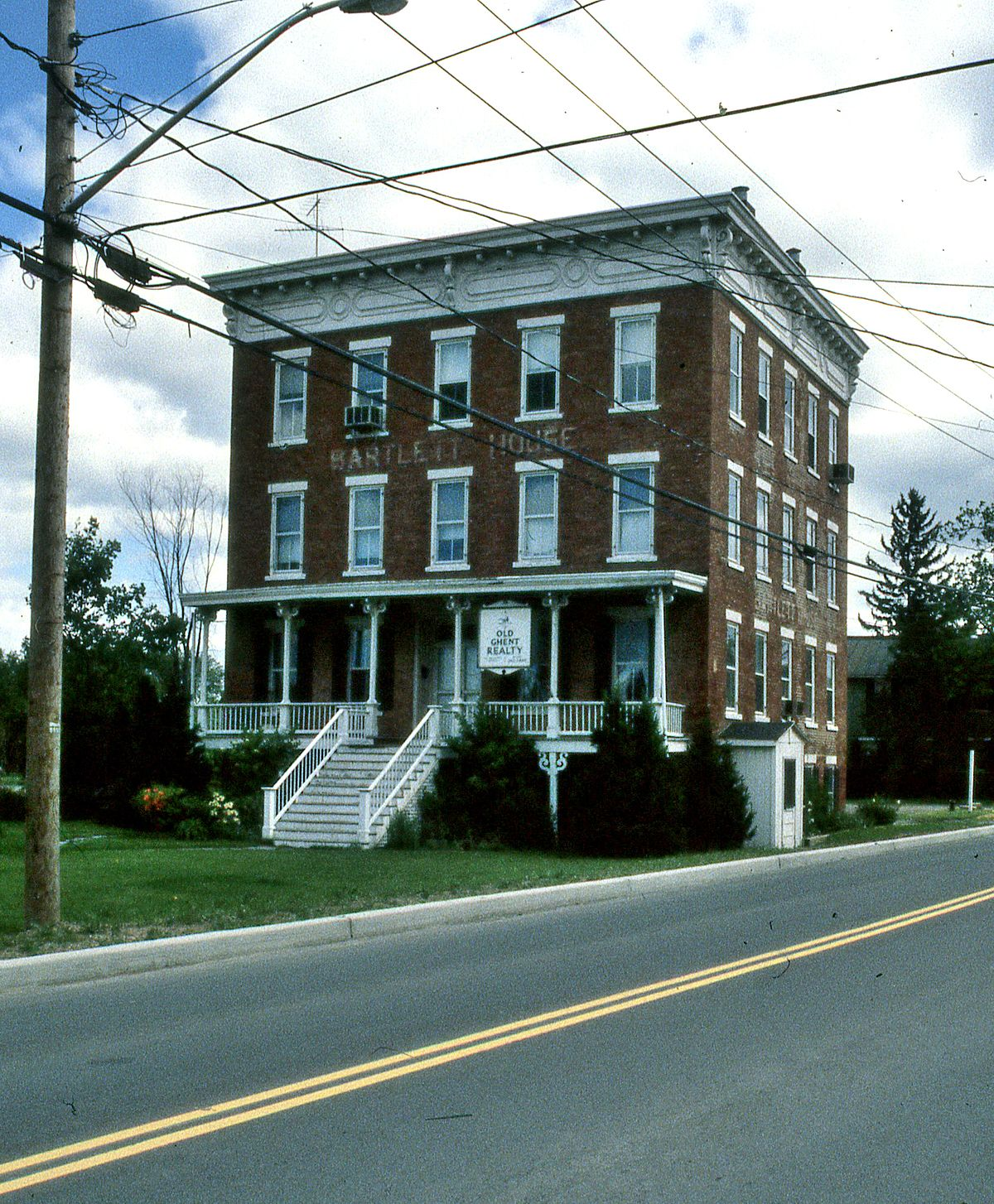 bartlett house ghent new york wikipedia