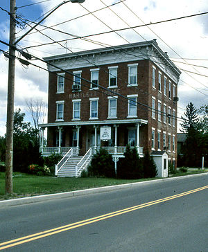 National Register of Historic Places listings in Columbia County, New York - Image: 1989.06 1.Bartlett House.Ghent.NY