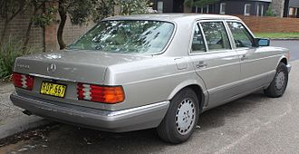 Mercedes-Benz W126 - Facelift Mercedes-Benz 560 SEL V126 (long-wheelbase version)