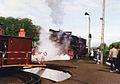1994, Parade of steam locomotives in Wolsztyn (Ol49 81).jpg