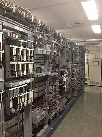 Number One Electronic Switching System - View of 1AESS frames