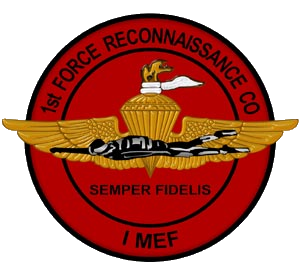 1st Force Reconnaissance Company - Seal of the 1st Force Reconnaissance Company