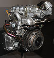 2003 Nissan YD22DDTi engine right-rear.jpg