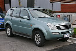 2003 SsangYong Rexton (Y200) RX290 wagon (2015-07-14) 01.jpg