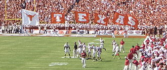 2005 Texas Longhorns football team - 2005 Red River Shootout – fourth quarter