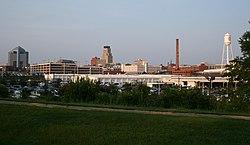 2008-07-12 Durham skyline
