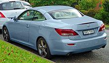Lexus IS 250 C (GSE20R; Australia)