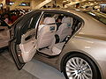 2009 silver BMW 750Li sedan left side.JPG