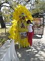 2010UptownSuperSunday-YellowDancerPose.JPG