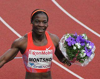 Amantle Montsho Botswana sprinter