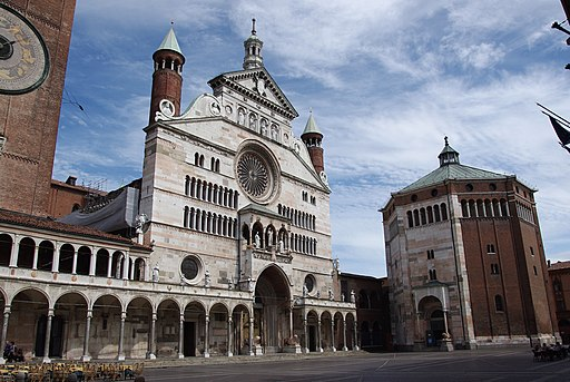 20110725 Cremona Cathedral and Baptistery 5939