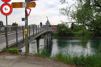 Orpund - Nidau-Buren Canal in Orpund
