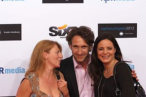 Rote Rosen (TV series) - Three former actors of the telenovela: Christine Wilhelmi, Falk-Willy Wild and Elisabeth Lanz (2012)
