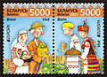 2012. Stamp of Belarus 06-2012-m-917-918.jpg