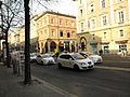 2012 Bologna taxi drivers strike, Piazza VIII Agosto (10) (Bologna).JPG