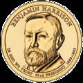 2012 Pres $1 BHarrison unc.png