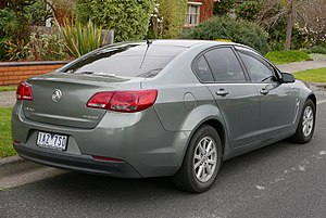 Holden Commodore (VF) - MY14 Commodore Evoke sedan