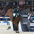 2013 Longines Global Champions - Lausanne - 14-09-2013 - Kamal Bahamdan et Noblesse des Tess.jpg