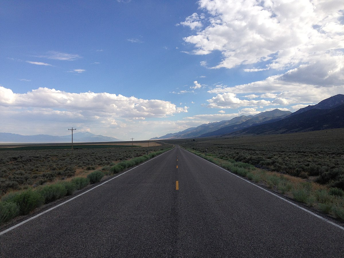 File:2014-08-09 16 50 39 View south along Nevada State ...