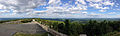 2014-08-28 16 44 24 Panorama from the east corner of the base of High Point Monument in High Point State Park, New Jersey.JPG