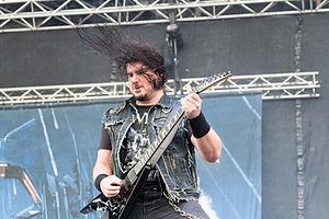 Corey Beaulieu - Corey Beaulieu performing in Nova Rock Festival 2014.