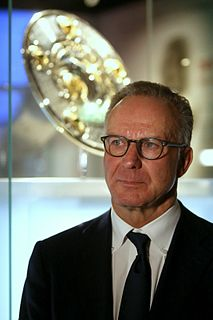 Karl-Heinz Rummenigge German football executive and former player