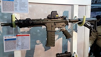GA Personal Defense Weapon - GA PDW with EOTech red-dot sight