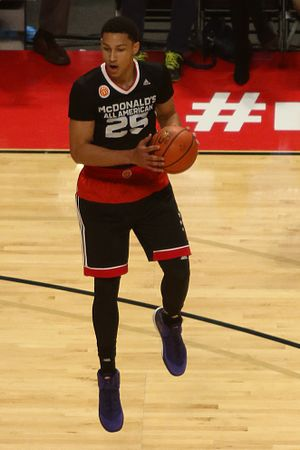 2016 NBA draft - Ben Simmons was selected first overall by the Philadelphia 76ers.