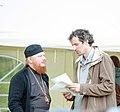 2016-07-18 19-58. Епископ Иона (Черепанов) и Дмитрий Лобанов.jpg