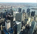 2016 One World Observatory view southeast towards Financial District.jpg