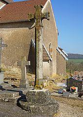 croix de cimetière de Montjustin-et-Velotte
