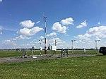2017-06-06 10 51 51 View north-northeast toward the Automated Surface Observing System (ASOS) at Ronald Reagan Washington National Airport in Arlington County, Virginia.jpg