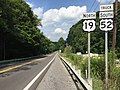 2017-07-21 16 46 26 View north along U.S. Route 19 and south along U.S. Route 52 Truck (Princeton Avenue) at Grassy Branch Road just northeast of Bluefield in Mercer County, West Virginia.jpg