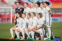 Deutsche Fussballnationalmannschaft Der Frauen Wikipedia